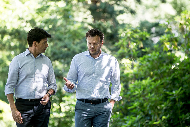 Jan en Nikolajev Maarschalk|Ligthart