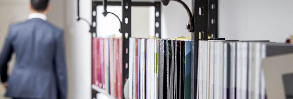 Kantoor boekenkast Maarschalk|Ligthart